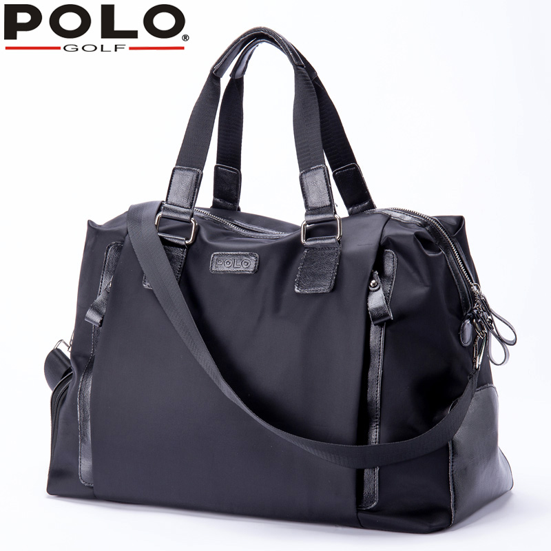 1c5ccf8182 High Quality New Brand Polo Shoulder Big Bag Men s Clothes Shoes Bag Golf  Large Capacity Light