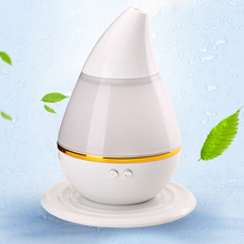 Drop Shaped 7 Colors Night Light Ultrasonic Aroma Humidifier Air Essential Oil Diffuser Smart Home Purifier Atomizer Refresher
