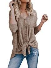 long sleeve v-neck cardigans sweater