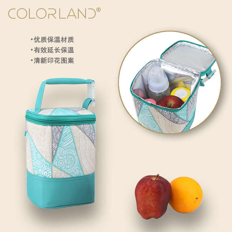 New Waterproof Lunch Infant Picnic Keep Warm Food Thermo Portable Mommy Tote Baby Insulation Feeding Milk Bottle Thermal Bag