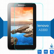 Original 9HTempered Glass For Lenovo IdeaTab A7-30 A3300 7.0 Inch Tablet Screen Protector Transparent Guard Protect Film Glass цена и фото
