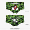 2017 3D Flag Two-Sided Printing Womens Underwear Panties Ladies Fashion Women's Briefs Wholesale New High Quality Panties PY228