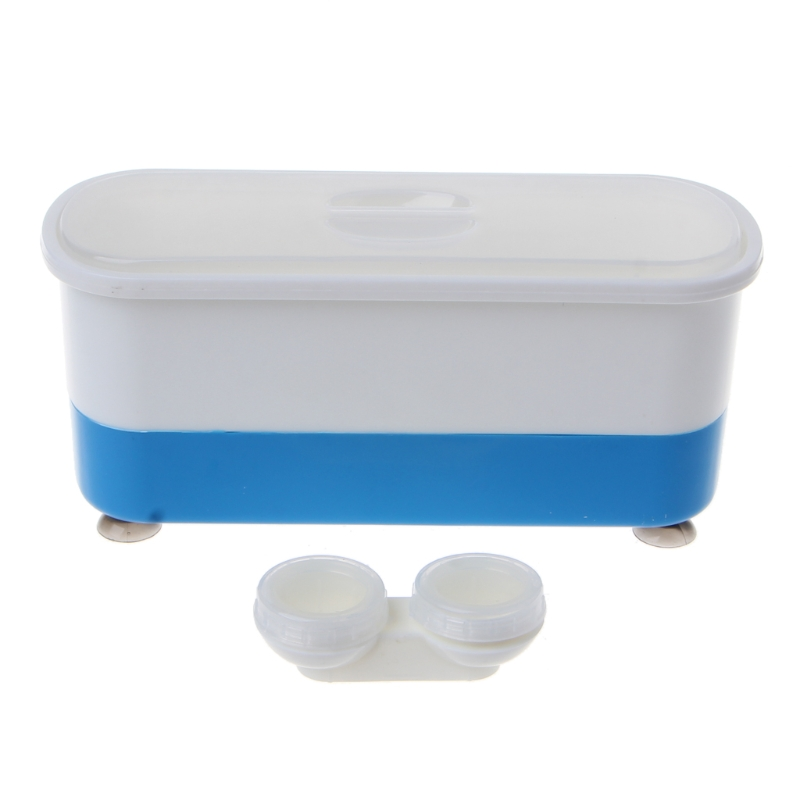Two-in-one Professional Contact lenses Eyeglass Ultrasound Wave Washing CleanerTwo-in-one Professional Contact lenses Eyeglass Ultrasound Wave Washing Cleaner