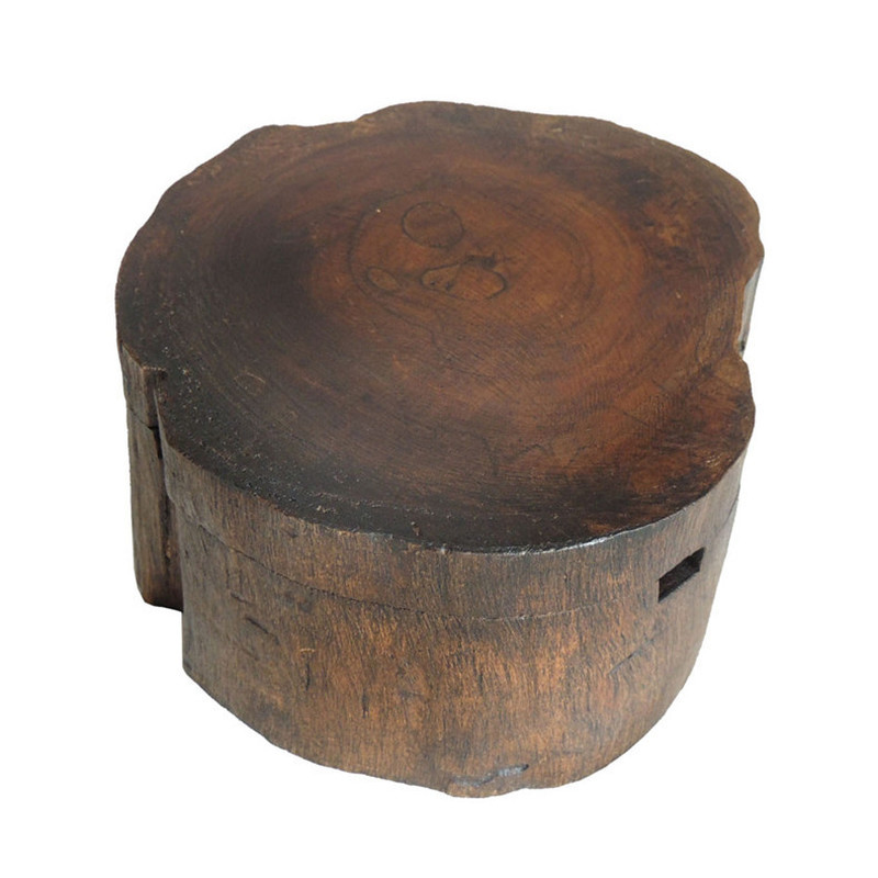 Handwork Teakwood Southeast Asia Style Ashtray for Smoking Weed with Lid Ashtray Vintage Bar SPA Table Decorative Ashtray