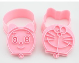 Doraemon three-dimensional biscuits mould twinset