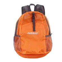Women & Men Orange Blue Foldable Travel Backpacks Polyester Lightweight Folding Backpack Rucksack Day Packs School Bag