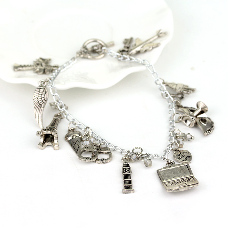 1pcs a lot Fifty Shades of Grey Charm Bracelet