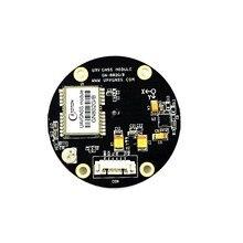 GPS GLONASS Double GNSS module UBLOX NEO-M8N GPS Chip Controller HMC5883L Compass module antenne For Pour APM 2.5 2.6 Pixhawk