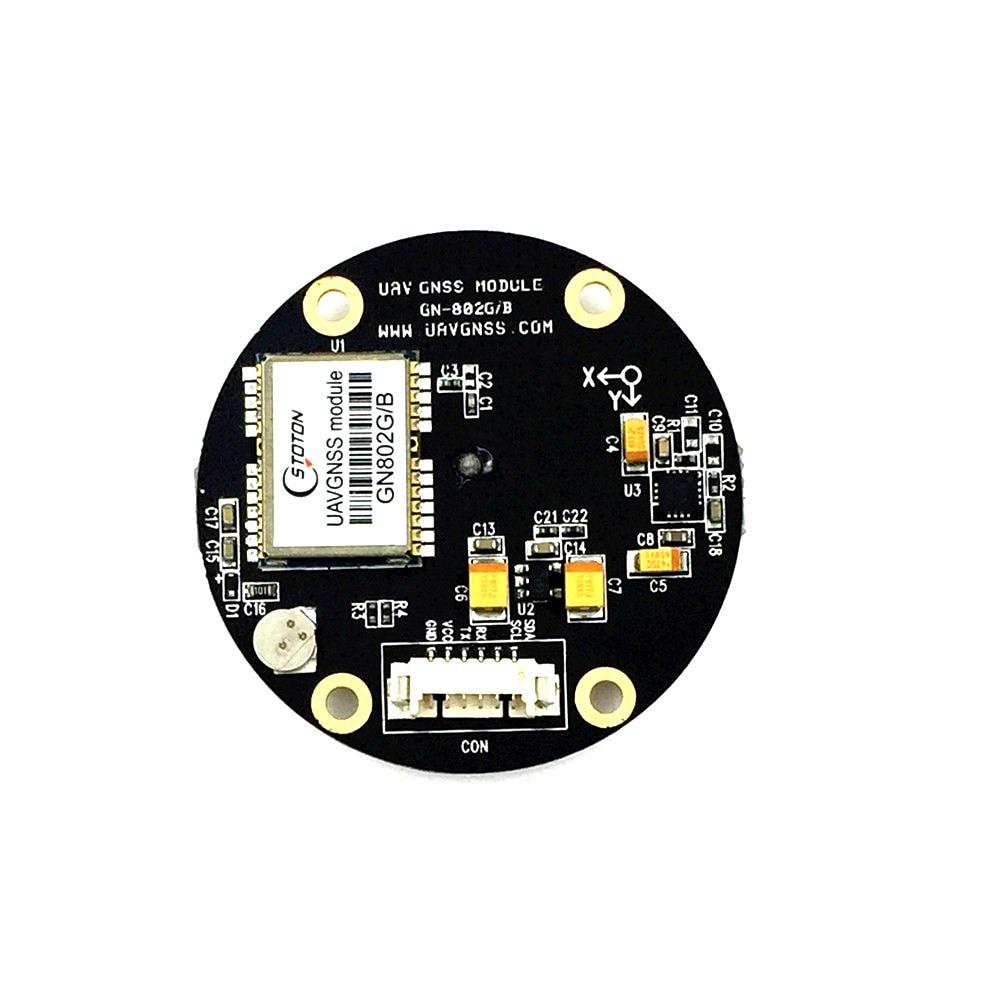 GPS GLONASS Double GNSS module UBLOX NEO-M8N GPS Chip Controller HMC5883L Compass module antenne For Pour APM 2.5 2.6 Pixhawk hmc5883l digital triple axis magnetometer compass sensor module red white
