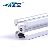 V slot rail aluminum profile extrusion 2020 6pcs*60cm Cutted CNC machine building Part Holder work with Delrin wheels Openbuild