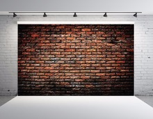 SHENGYONGBAO Vinyl Custom Photography Backdrops Brick wall theme Photo Studio Prop Photography Background SS-00060 цена в Москве и Питере