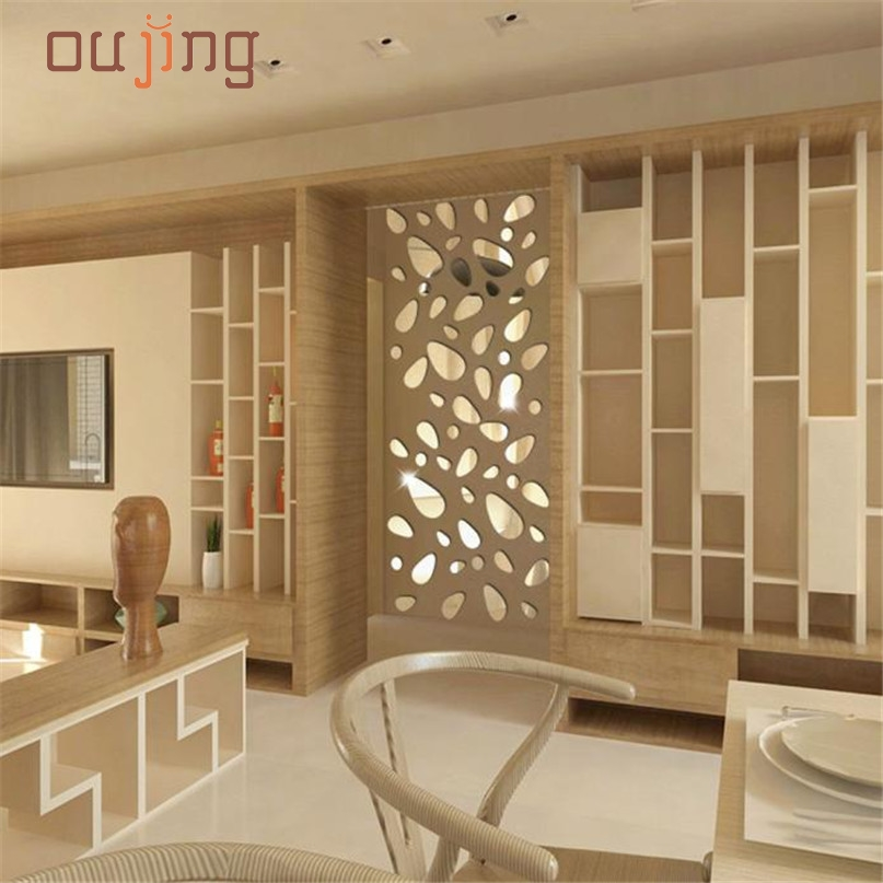Home Wider New High Quality Hot Selling 12Pcs 3D Mirror Vinyl Removable Wall Sticker Decal Home Decor Art DIY Drop Shipping