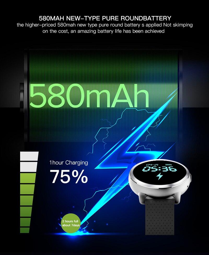 LEMFO LEM8 4G Smart Watch Android 7.1.1 GPS Smartwatch Men 2GB 16GB 580Mah Battery 1.39 Inch AMOLED Screen Sport Watch 14