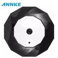 ANNKE Panoramic Camera 1 3MP 3MP Optional IP Camera Wide Angle FishEye CCTV Indoor Smart Wi