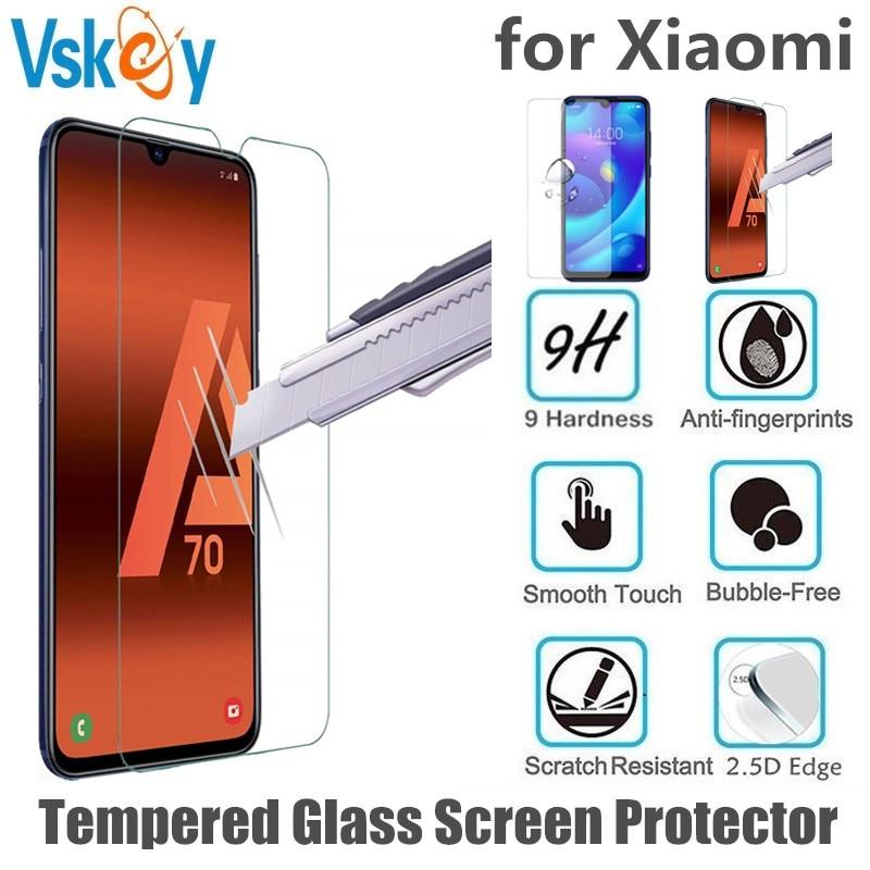 VSKEY 100pcs 2.5D Tempered Glass for Xiaomi Mi CC9 Screen Protector Anti Scratch Protective Film for Xiaomi CC9E
