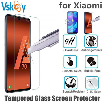 VSKEY 100pcs 2.5D Tempered Glass for Xiaomi Mi CC9 Screen Protector Anti Scratch Protective Film for Xiaomi CC9E