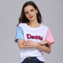 3240a18218 Daddy Shirt, Little Girl DDLG Jenner shirt Pink Neon Text, Yes Daddy Tee  Shirt