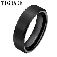 Fancy Men S Black Ceramic Ring Classic Simple Style High Quality Jewelry Gift Free Shipping Size