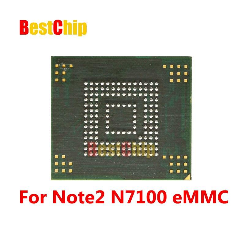 20pcs lot Note 2 N7100 NAND Flash memory KMVTU000LM B503 KMVTU000LM eMMC