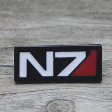 L1418 Game Mass Effect Metal Brooches and Pins Enamel Pin for Backpack/Bag Badge Brooch  Collar Jewelry