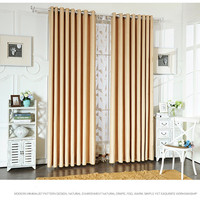 Modern Simple Solid Color Velvet Embossed High Shading Curtain Fabric Living Room Bedroom Wholesale