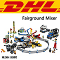 2017 New 15014 1858Pcs Creator City Street Fairground Mixer Model Building Kits Blocks Bricks Children Toy Compatible Gift 10244