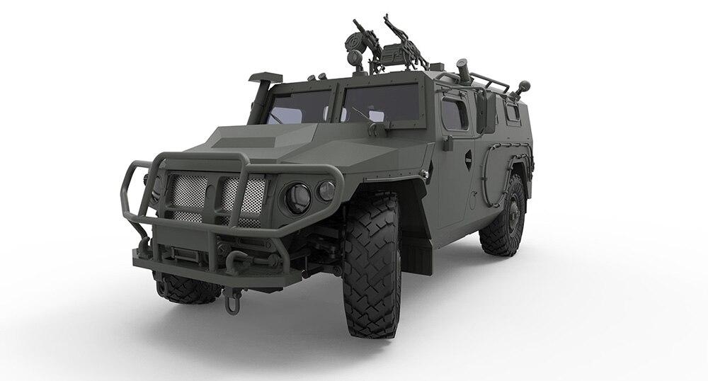 """MENG-Model VS-008 Russian GAZ 233115/""""Tiger-M/"""" SPN SPV in 1:35"""
