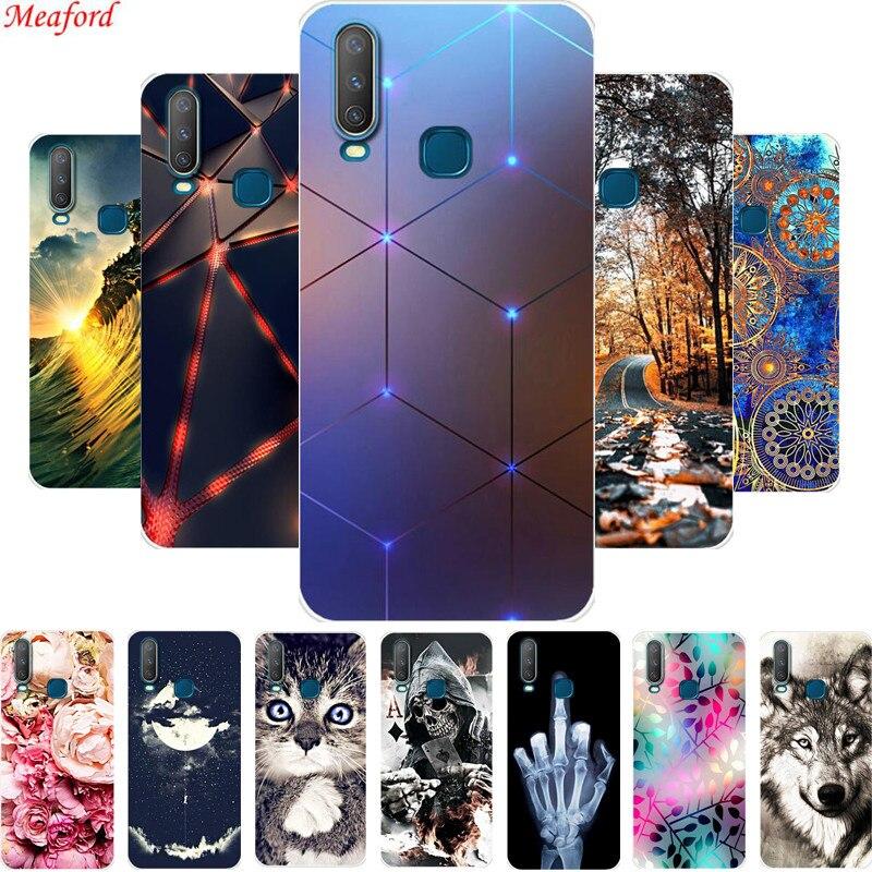 6.35'' For Vivo Y17 Y15 Y12 Y3 Case Soft TPU Phone Case For VIVO Y 17 Y 15 Y 12 Y 3 Back Cover Case Silicone Coque Y17 Y12 Funda