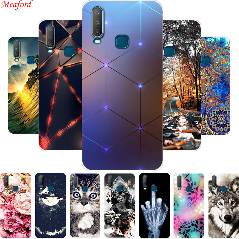 6.35'' For <font><b>Vivo</b></font> Y17 Y15 Y12 <font><b>Y3</b></font> <font><b>Case</b></font> Soft TPU Phone <font><b>Case</b></font> For <font><b>VIVO</b></font> Y 17 Y 15 Y 12 Y 3 Back Cover <font><b>Case</b></font> Silicone Coque Y17 Y12 Funda image