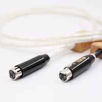 One Pair Hifi audio cable XLR Banlance interconnect cable XLR Cable