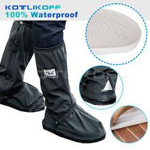 Водонепроницаемые чехлы kotlikoff для мотоциклетной обуви толстые
