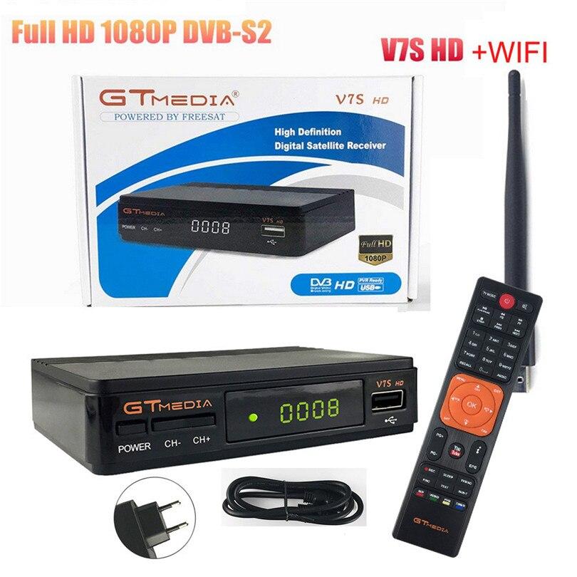 Gut Ausgebildete Gtmedia V7s Hd Dvb-s2 Satellite Audio Receiver Digital Converter 1080 P Unterstützung Usb Wifi Antenne Eu Plug Power Versorgung 30nt08 Modern Und Elegant In Mode Funkadapter