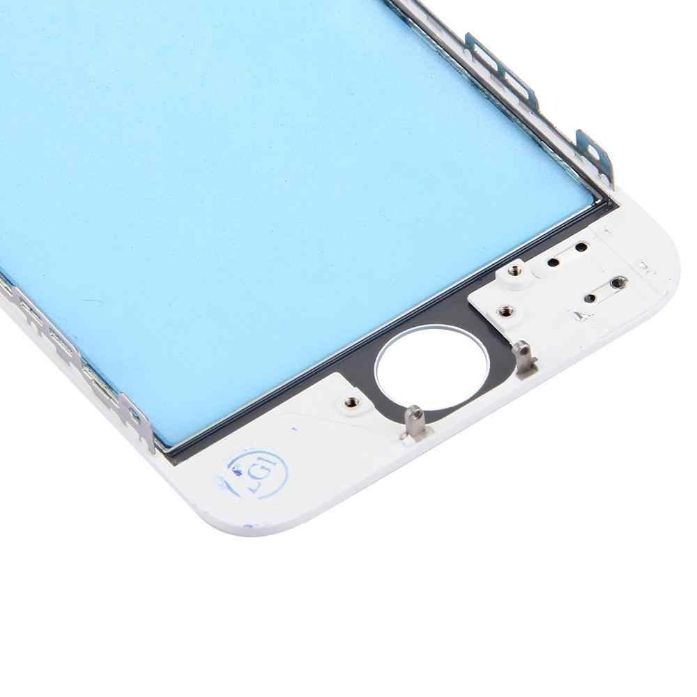 Для iPhone 6 S Plus Сенсорная панель Панель с передней ЖК-монитор bezel рамка и ОСА оптически ясно клей для iPhone 6 Plus