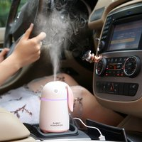 Usb cute rabbit humidifier car aromatherapy air purifier bedroom air steaming device Humidifiers