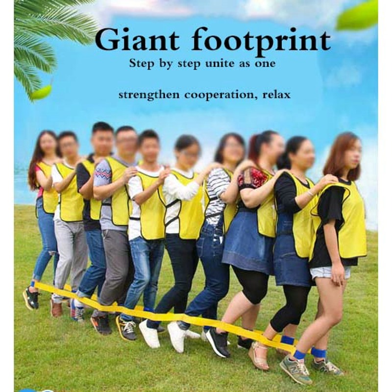 Aliexpress.com : Buy 119cm 5 People Giants Footsteps Trams