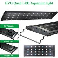 60 72/150 180CM EVO Quad Plant Rianforest marine reef cichlid Aquarium Aquatic Pet Fish tank LED Light Lamp Lighting fixture