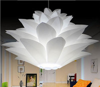 Lowest Price On Sale DIY Modern Pinecone Pendant Light Creative Lily Lotus Novel Led E27 35
