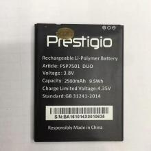 new For psp7501 duo bBattery 100% New 2500mAh Replacement battery Prestigio PSP7501 smart phone
