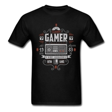 Popular Classic gamer Tshirt Mens Crew Neck Graphic T Shirts Popular Short Sleeve Men's T-Shirt