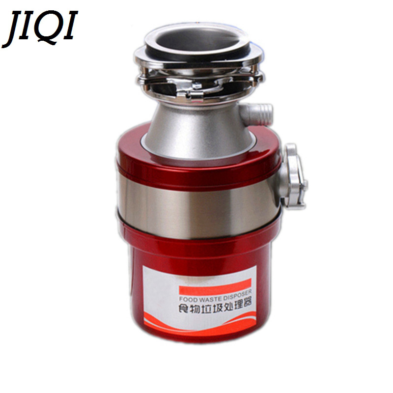 JIQI kitchen food garbage processor disposal crusher food waste disposers Stainless steel Grinder material kitchen appliances wavelets processor