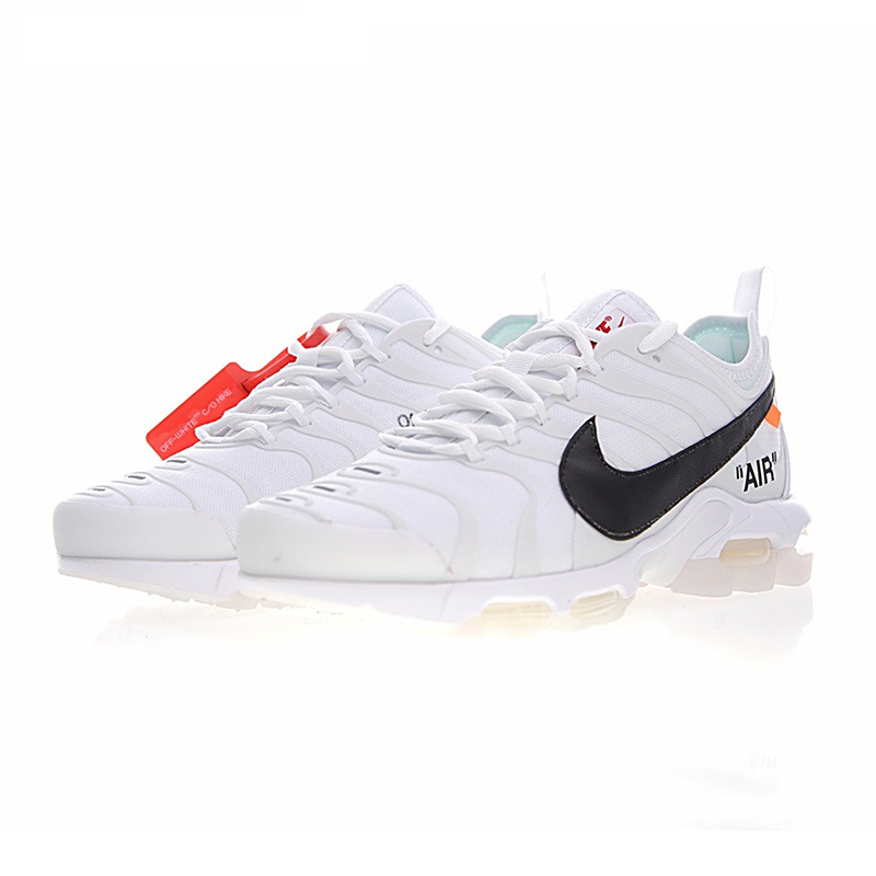 259d5fd1fb2 Original New Arrival Authentic Nike Air Max Plus TN Ultra x Off White Men s  Cushion Retro Running Shoes Sneakers AA3827 100-in Running Shoes from Sports  ...
