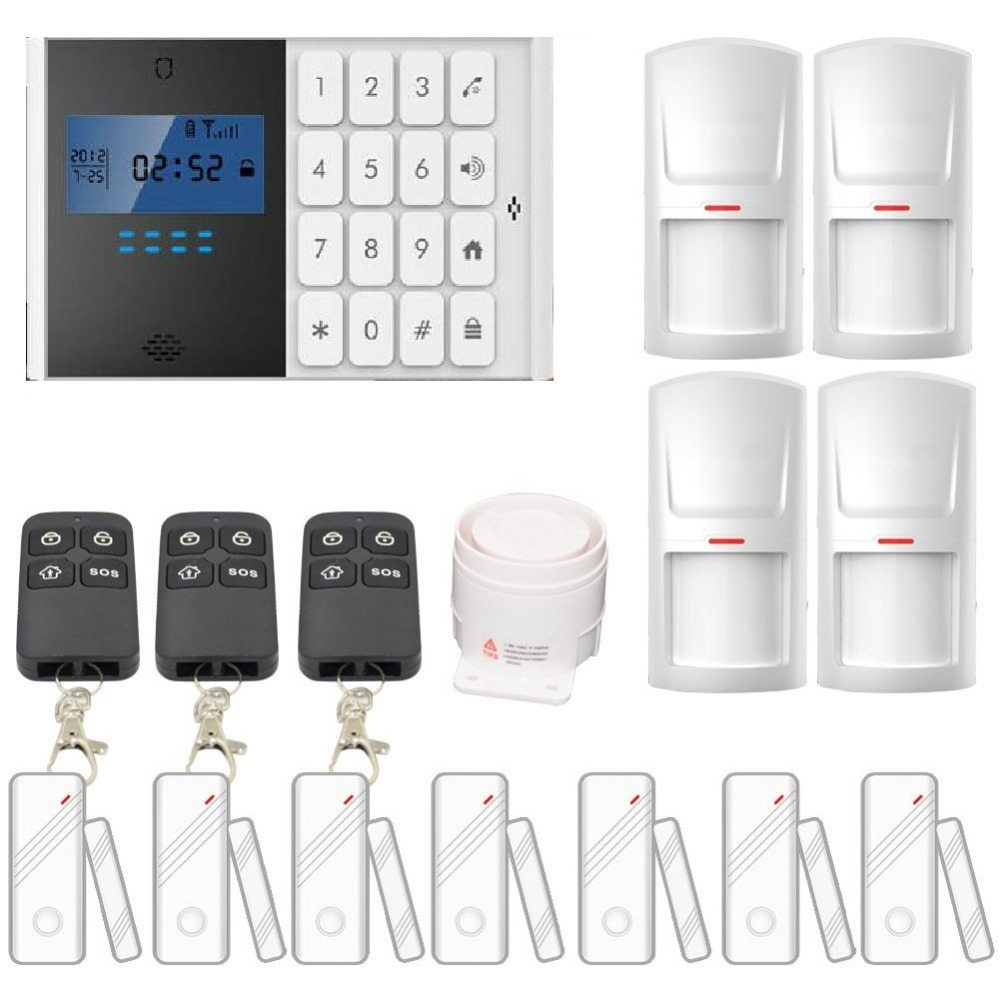 2017 Hot Selling Free Shipping Smoke Alarm GSM Alarm System M2C All For Your Home Security Wirelesss 433MHz Sensor Alarm free shipping hot selling 433mhz wireless water detector for home burglar alarm system