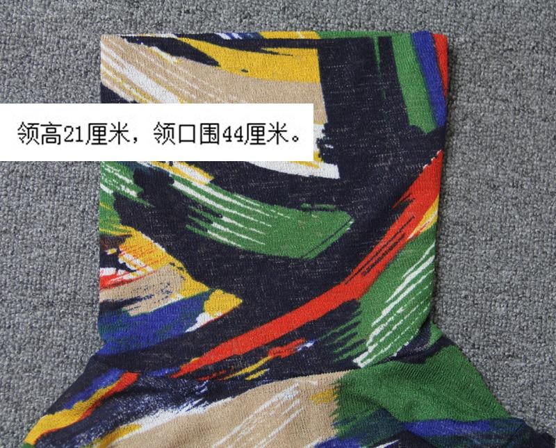 Nuovo Maglione Sottile Giacca 1 Basa T Di shirt Donna Marea Colore Corte Che collo Camicia Maniche Alto Primavera Selvaggio Set La A PSwzx140