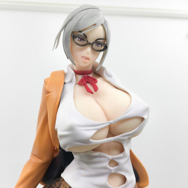 25cm sexy figure Anime Prison School Meiko Shiraki Sexy Action Figures PVC Collection Model toys brinquedos Gift 1