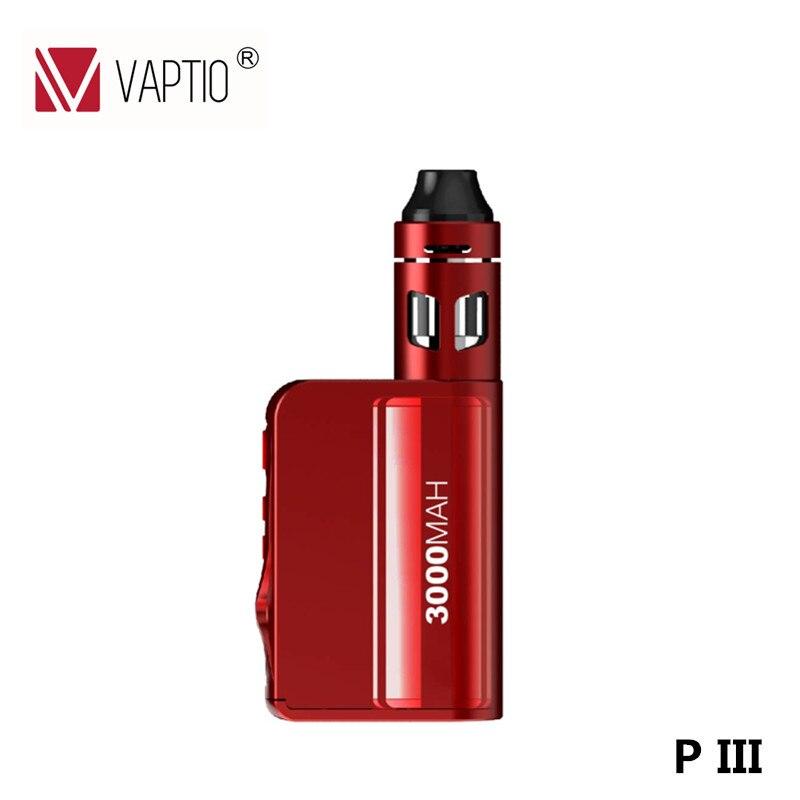 Electronic cigarette P3 Vape kit 3000mah built in battery 100W box mod 2ml Top Filling Atomizer E CigaretteVS Vaporesso mini Kit