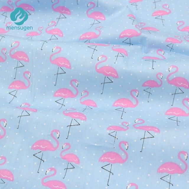 Mensugen 50 Cm 160 Cm Cartoon Baumwolle Flamingo Stoff Für