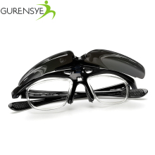 96528766b2 Gurensye Cycling Glasses With Myopia Frame Sport Bike Bicycle Sunglasses  Men Women Goggles Eyewear Oculos Occhiali