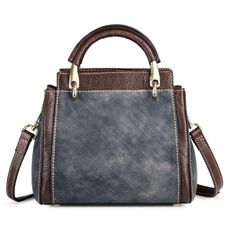 PNDME luxury embossed genuine leather female tote for women 2019 flowers fashion vintage red ladies shoulder crossbody bags in Top Handle Bags from Luggage Bags