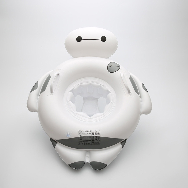 ISF New Style Inflatable Swiming Ring Summer Water Fun Pool Toy Baymax Pool Float Baby Swimming Pool Accessories
