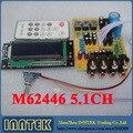 Собранный M62446 5.1CH предусилителя предусилитель объем пульт дистанционного управления совета